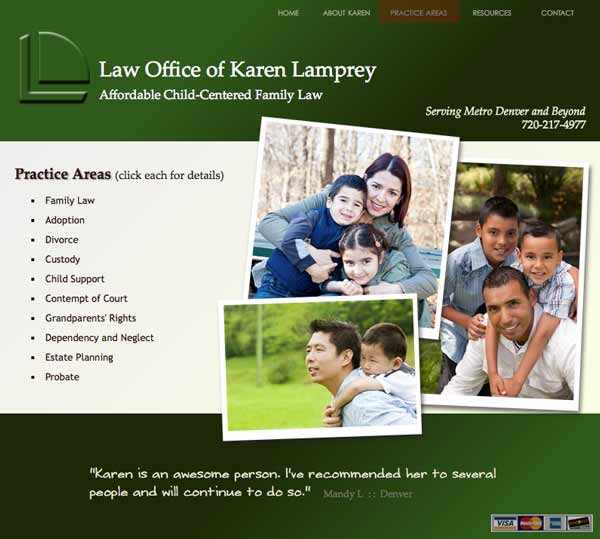 Karen's family-law practice areas