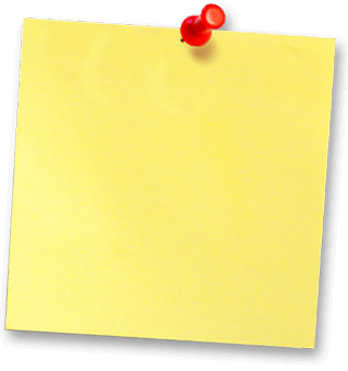 Post-it note showing March's special offer